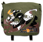 Soul Eater Messenger Bag Group Soul Maka Death the Kid Black Star